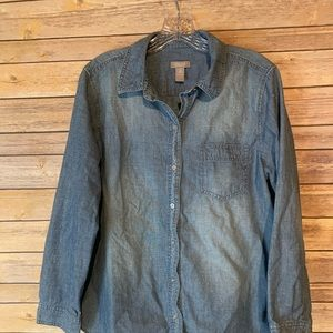 Chico's Chambray Blouse